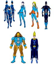 VX Super Force Movie Characters 3