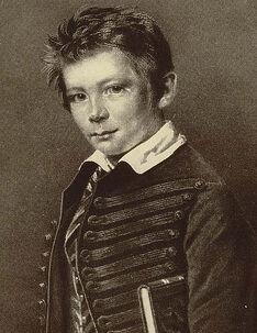 Bismarck, aged twelve