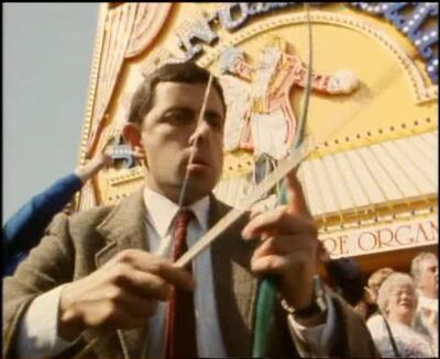 Mr bean bow9