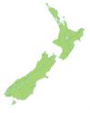 New Zealand location map transparent