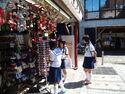 Kyoto, Japan, School Girls, Olym1 043