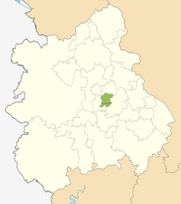 Smethwick locator map