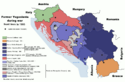 Map of war in Yugoslavia, 1993