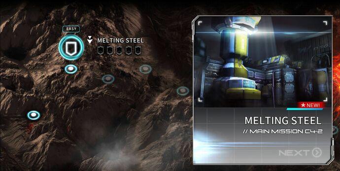 Melting Steel