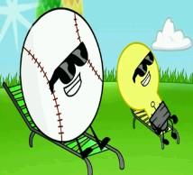 Lans Baseball'a i Żarówki