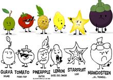 Spoiled Lemon Concept Art