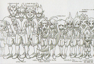 Faram Dite height chart in Galaxy Databook