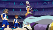 Shindou and Tenma trying to stop Kuroiwa Android EP39 HQ