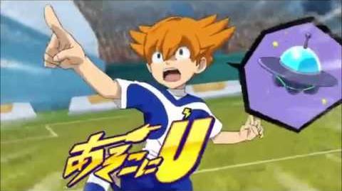 Inazuma eleven go galaxy episode 34 Asokoni UFO