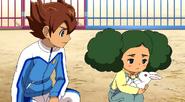 Tenma convincing Konoha