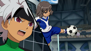 Shindou stopping the ball Galaxy 3 HQ