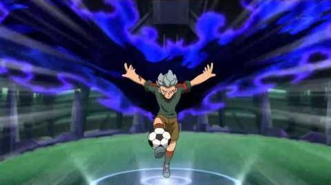 Inazuma Eleven Go(イナズマイレブン Go)Kuroki Tsubasa Raven 黒き翼 レイヴン