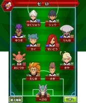 Zero's game formation (GO and Chrono Stone)