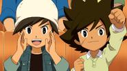 Shun and Yuuta cheer! IEGalaxy3 HQ