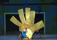 Live Action God Hand vs Emperor Penguin No 2