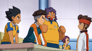 Raimon members not agreeing GO 9
