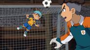 Shinsuke saving the goal GO 31 HQ