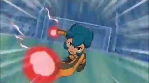 Inazuma Eleven Dream Match Bakunetsu Screw vs God Hand X