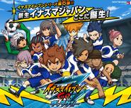 Inazuma Eleven GO Galaxy new characters
