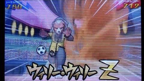 Inazuma Eleven GO 3 Galaxy Willy Willy