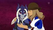Kusaka helping out Banda Jr HD