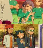 Flirtatious tsukimi