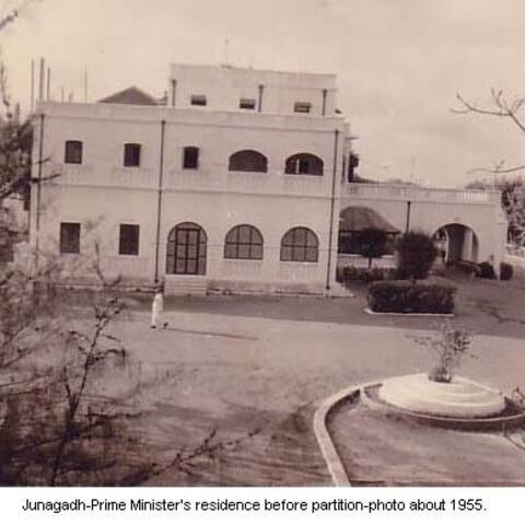 Prime Minister's residence before partition