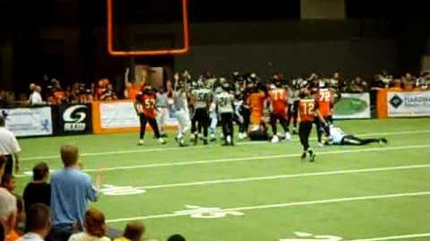 Wichita Wild Rushing Touchdown - Fudge