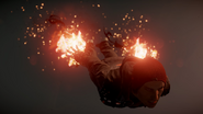 Delsin descends during Orbital Drop