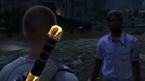 Emergency Measures mission start in inFamous 2