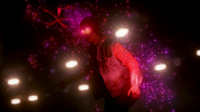 Evil Delsin in Pioneer Tunnel after draining Neon