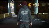 Delsin wearing Agent vest