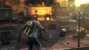 Stronghold mission start in inFamous 2