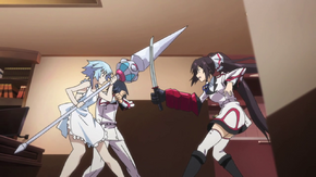 Tatenashi vs Houki