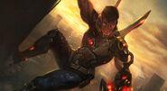 Argus Agent Cyborg Splash Art Skin