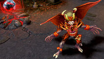 Krampus Nightmare Batman Skin costume Gameplay