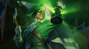 Emerald Patriot Arcane Green Lantern Skin