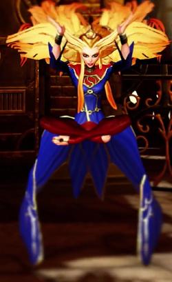 Arcane Supergirl Character Model
