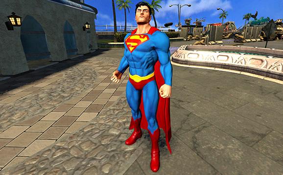 File:Classic Superman Infinite Crisis Gameplay Skin.png