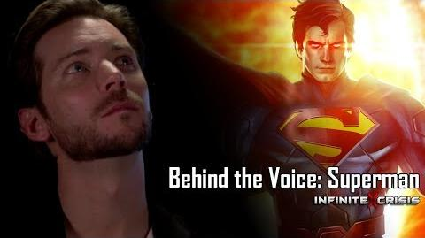 Behind the Voice Troy Baker as Superman