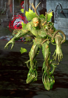 Swamp Thing Character Model
