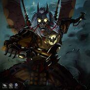 Samurai Gaslight Batman Skin