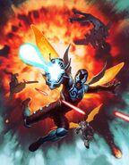 Blue Beetle Art
