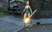 Bombshell Stargirl Costume Skin Gameplay
