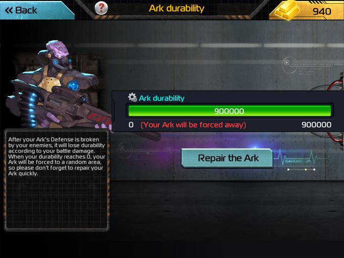 AoW ArkDurability