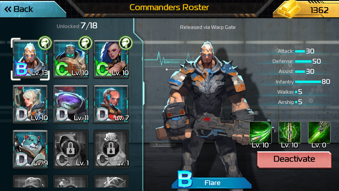 Aow CommanderRoster