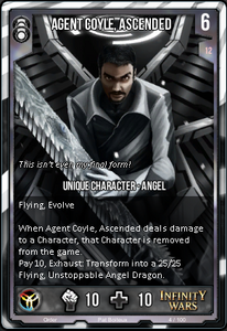 Agent Coyle, Ascended