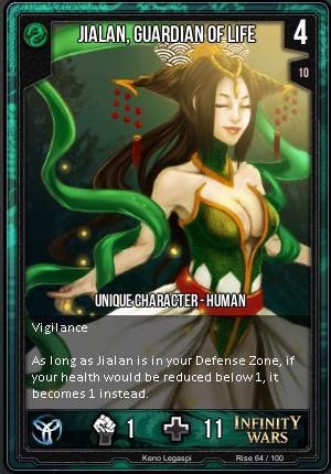 RISE- Jialan, Guardian Of Life