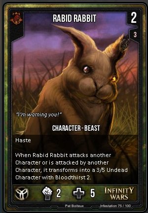 INFESTATION- Rabid Rabbit