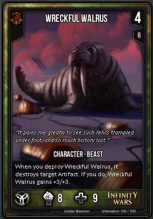 INFESTATION- Wreckful Walrus